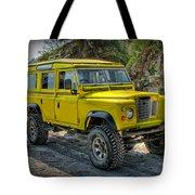 Yellow Jeep Tote Bag