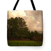 Yellow Lawn Chairs Tote Bag