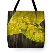 Yellow Leaves Tote Bag