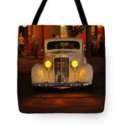 Yellow Lights On Tote Bag