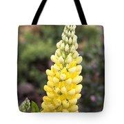 Yellow Lupine Tote Bag