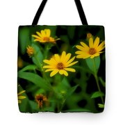 Yellow N Green Tote Bag