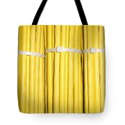 Yellow Network Cables Tote Bag