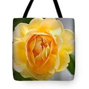Yellow Rose Blooming Tote Bag