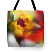 Yellow Rose Fantasy Tote Bag