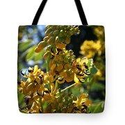 Yellow Senna Tote Bag