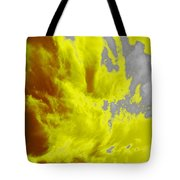 Yellow Sky Tote Bag