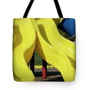 Yellow Slides Tote Bag