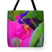 Yellow Spider Tote Bag