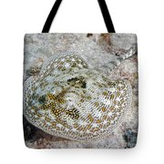 Yellow Stingray In Caribbean Sea Tote Bag