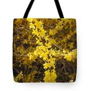 Yellow Strand Tote Bag