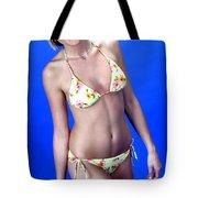 Yellow Swim 13-crop Tote Bag