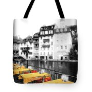 Yellow Tablecloths Tote Bag