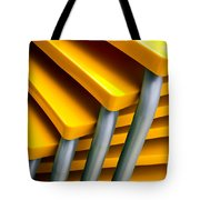 Yellow Tables Tote Bag