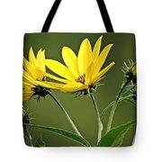 Yellow Wildflower 2 Tote Bag