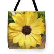 Yellow Wow Tote Bag