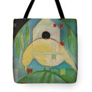 Yellowbird Whitehouse Tote Bag