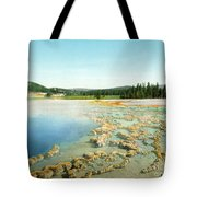 Yellowstone: Hot Spring Tote Bag