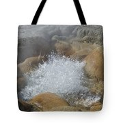 Yellowstone Hot Springs 9499 Tote Bag