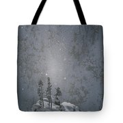 Yellowstone National Park, Winter View Tote Bag
