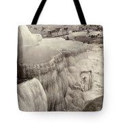 Yellowstone Park: Mammoth Tote Bag