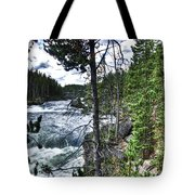 Yellowstone River II Tote Bag