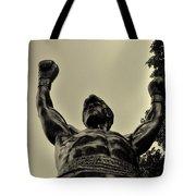 Yo Rocky Tote Bag by Bill Cannon