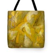 Yo Yo Gold Tote Bag
