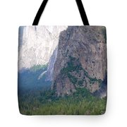 Yosemite Bridal Veil Fall Tote Bag