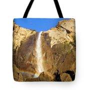 Yosemite Bridal Veil Falls Tote Bag
