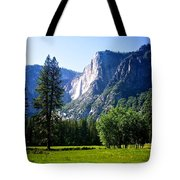 Yosemite Falls From The Ahwahnee Tote Bag