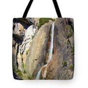 Yosemite Falls Rainbow Tote Bag