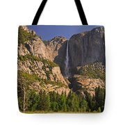 Yosemite Fall's Spring Flow Tote Bag