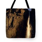 Yosemite Falls Winter Morn' Tote Bag