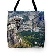 Yosemite Valley From Glacier Point Tote Bag