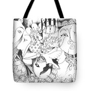 You And Me And The Seemingly Silent Tote Bag