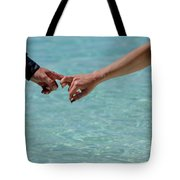 You And Me. Togetherness Tote Bag
