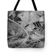 You Don't See Me Black N White Tote Bag