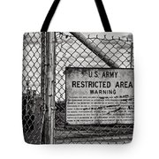 You Have Been Warned Tote Bag