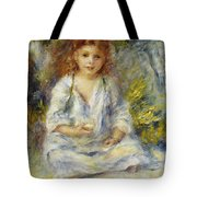 Young Algerian Girl Tote Bag