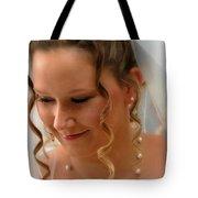 Young Bride Tote Bag