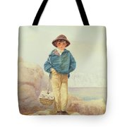 Young England - A Fisher Boy Tote Bag