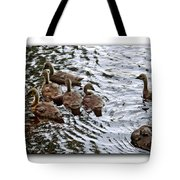 Young Geese Tote Bag
