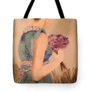Young Girl Young Woman Tote Bag