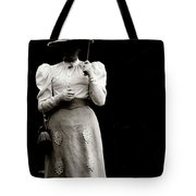 Young  Lady Shady Tote Bag