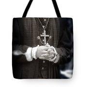 Young Renaissance Priest Tote Bag