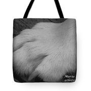Young Wolf Paw Tote Bag