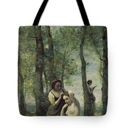 Young Woman At Her Toilet Tote Bag