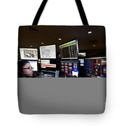 Young Woman Working In The Emergency Tote Bag