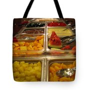 Your Choice Of Fruit Tote Bag by Ausra Huntington nee Paulauskaite